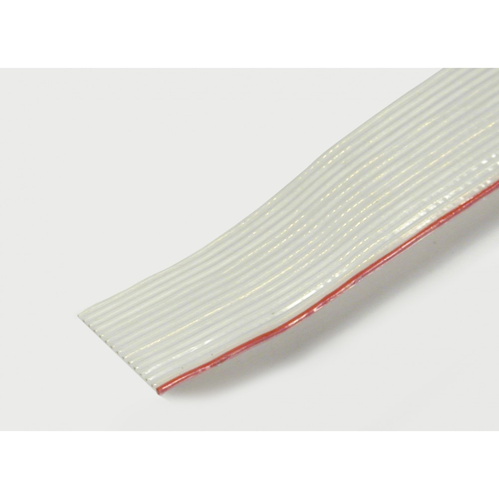 Allectra | PTFE RIBBON CABLE FOR UHV, SILVER PLATED COPPER CONDUCTOR ...